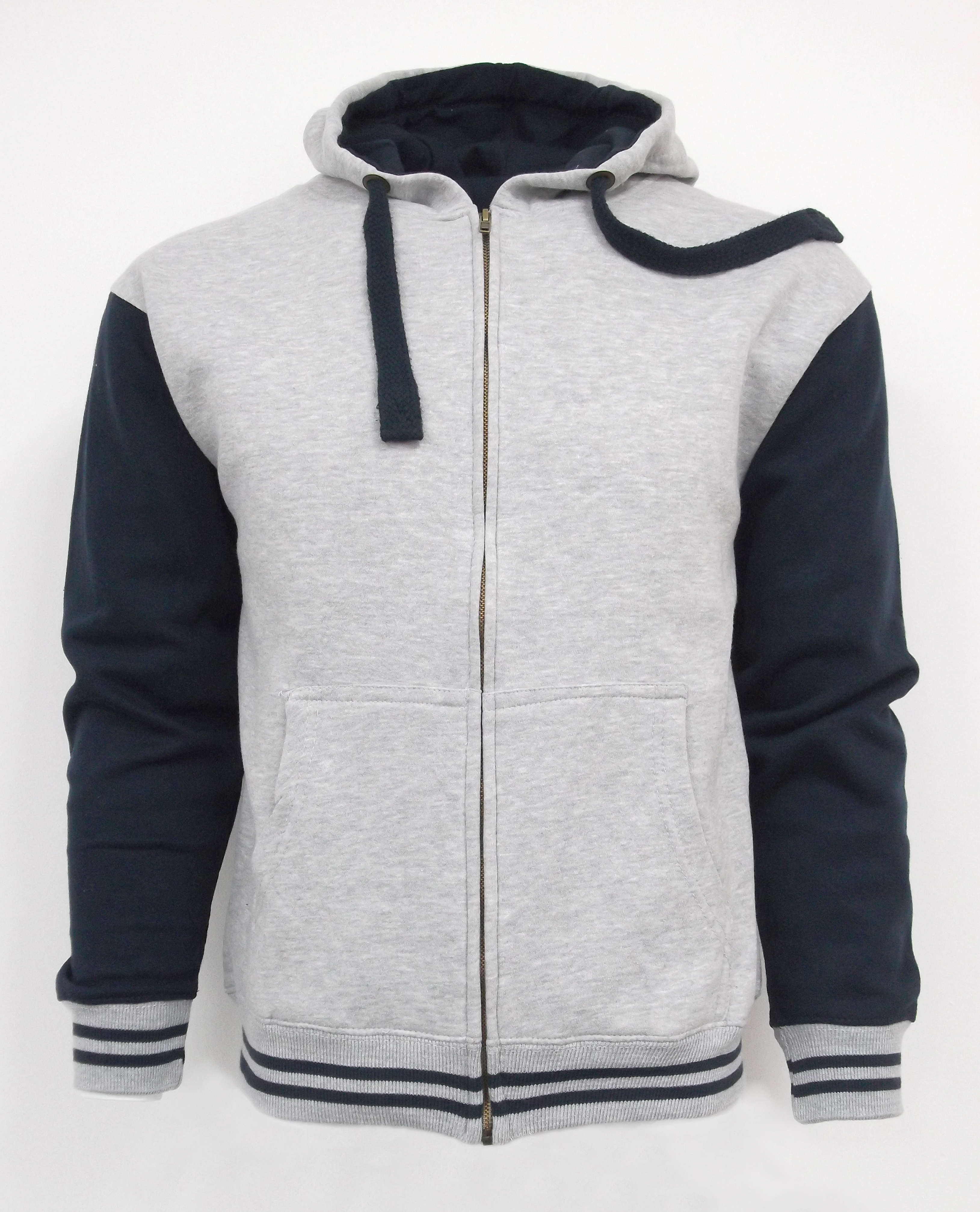 Advance Apparel AA020 Stripe Zip Hood