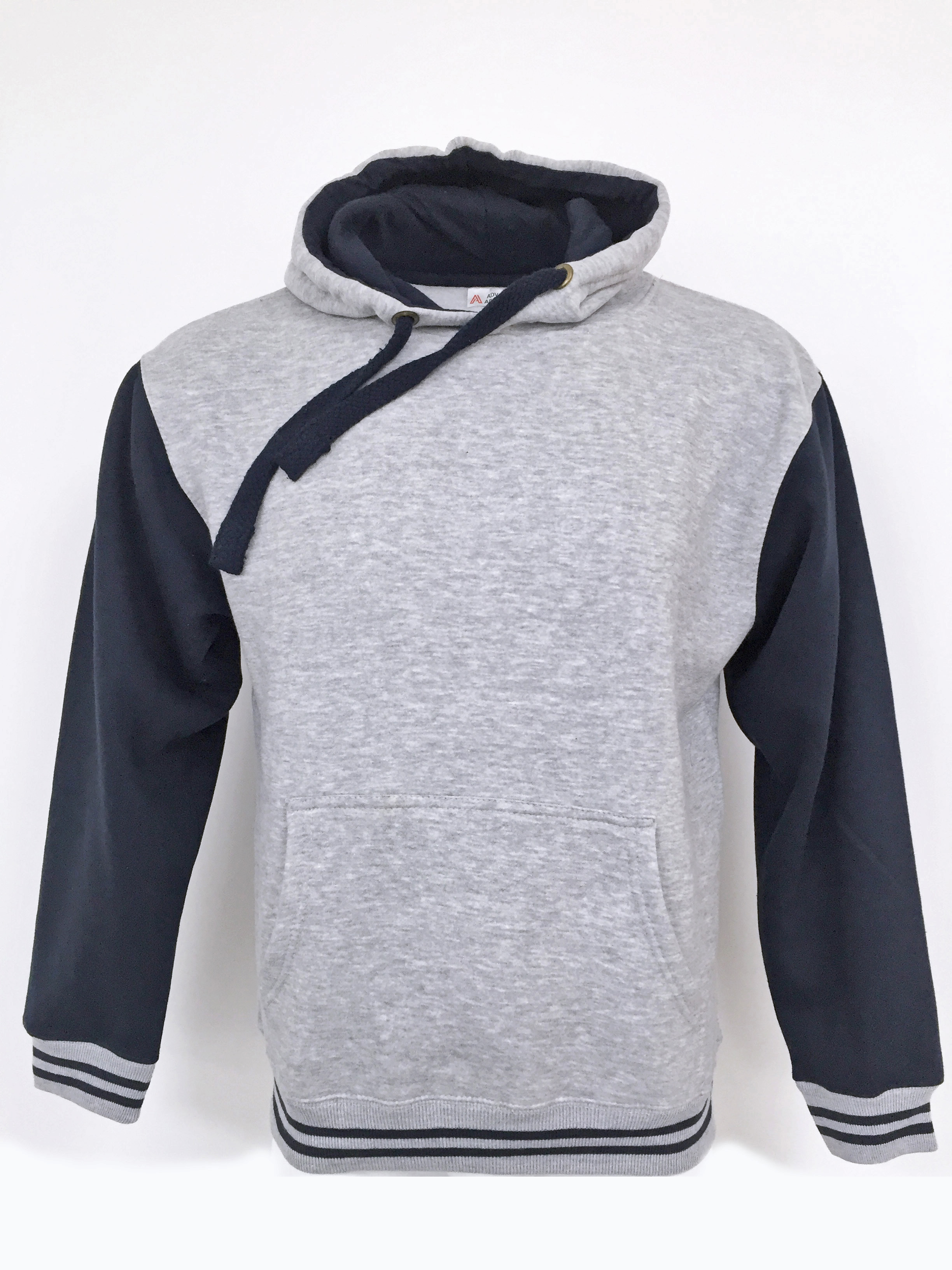 Advance Apparel AA119 Stripe Pullover Hood