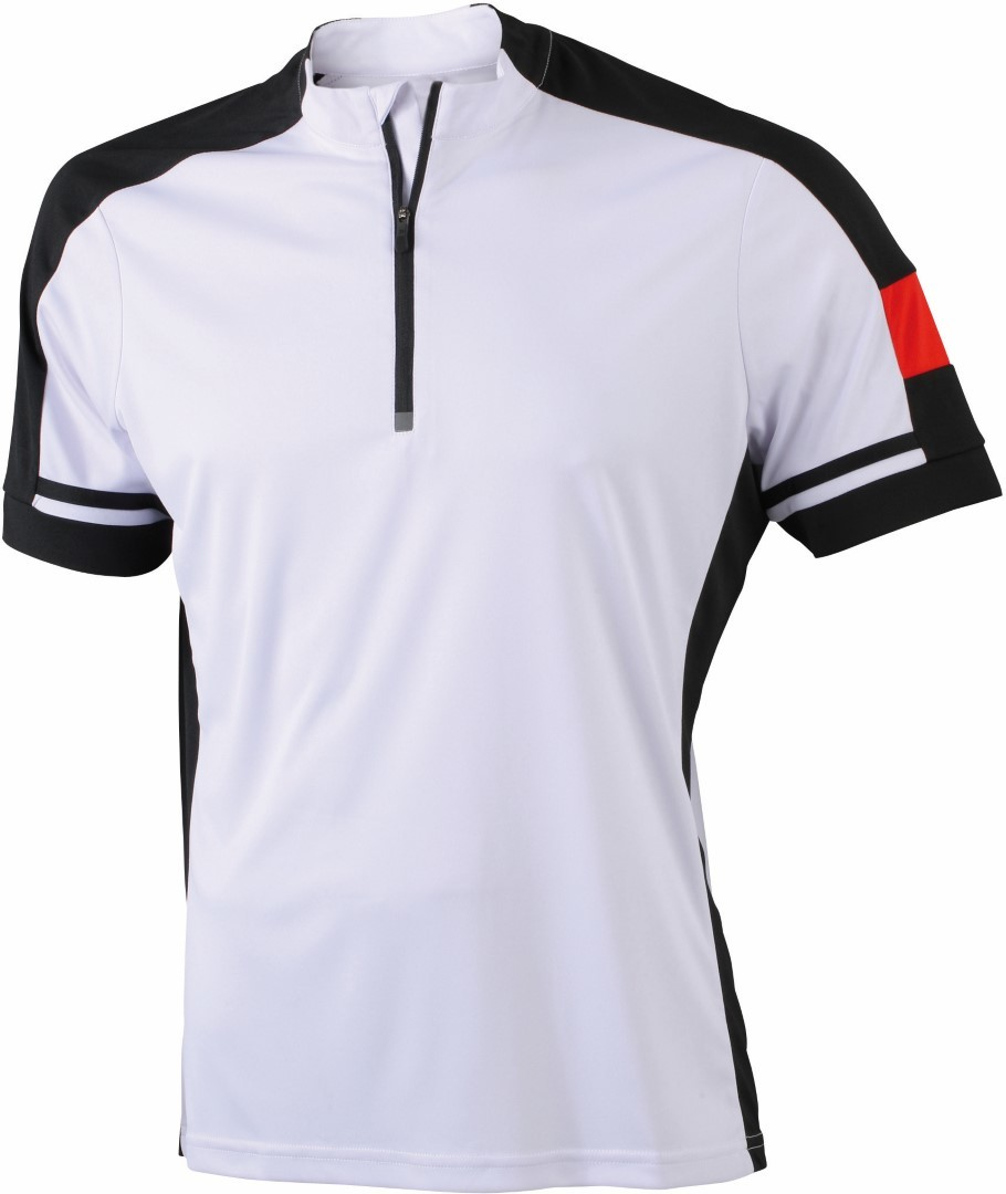 James Nicholson JN452 Unisex Bike Half Zip Cycling Shirt