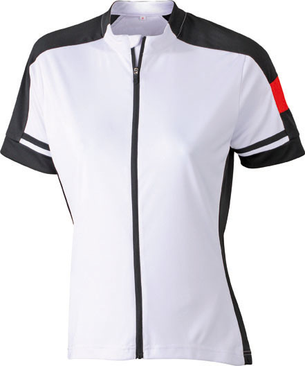 James Nicholson JN453 Ladies Bike Full Zip Cycling Shirt