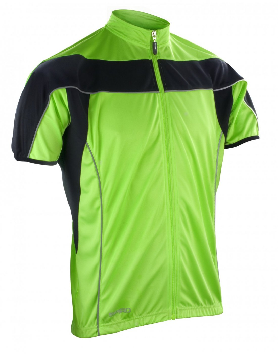 Spiro S188M Men's Bikewear Full Zip Performance Top
